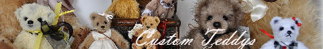 Custom Teddys - Individually designed, handmade, collectible teddy bears by Vicki Peres