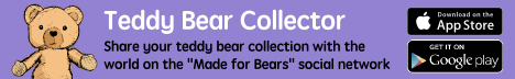 "Teddy Bear Collector App - Share your teddy bear collection with the world on this ""Made for Bears"" social network."