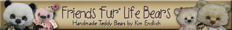 "Friends ""Fur"" Life Bears - Handcrafted Artist Teddy Bears and Patterns by Kim Endlich"