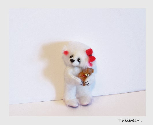 teddy bear measures approx 2 5 inches bear is moving in the body and