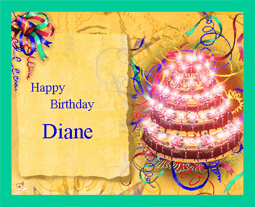 Birthday Cake Images For Diane : Happy Birthday! Page 32 Stafford Forum