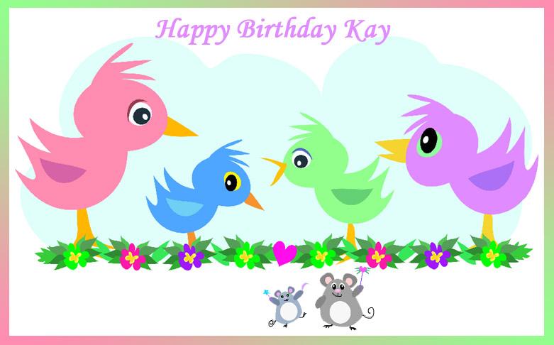 Happy Birthday Kay Cake Images