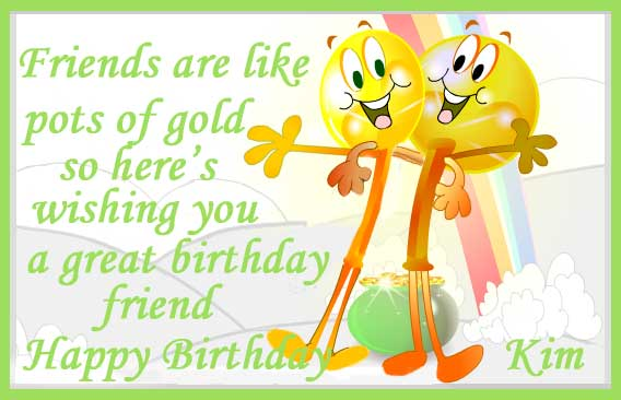 Happy Birthday Kimberlee Cake