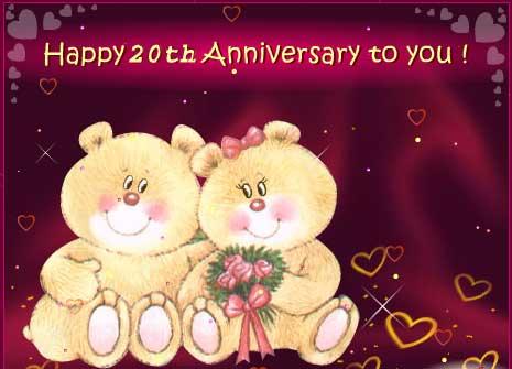Happy 20th Anniversary Re 20th Wedding Anniversary